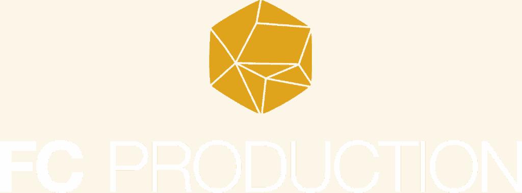 Logotyp FC Production med ikon